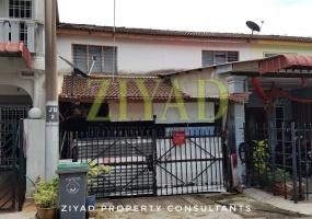 2-Storey Low Cost Terrace House, Intermediate Taman Kluang Barat, Kluang Taman Kluang Barat For Auction Lelong