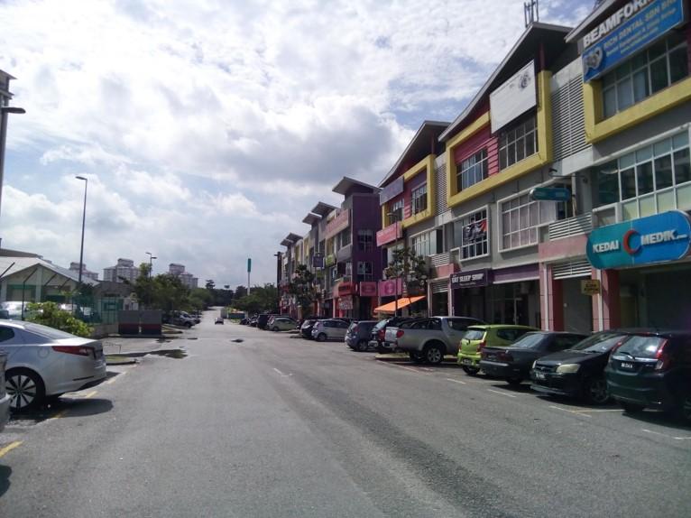 Shah Alam,Selangor,Malaysia,Terrace Shop/office,1144